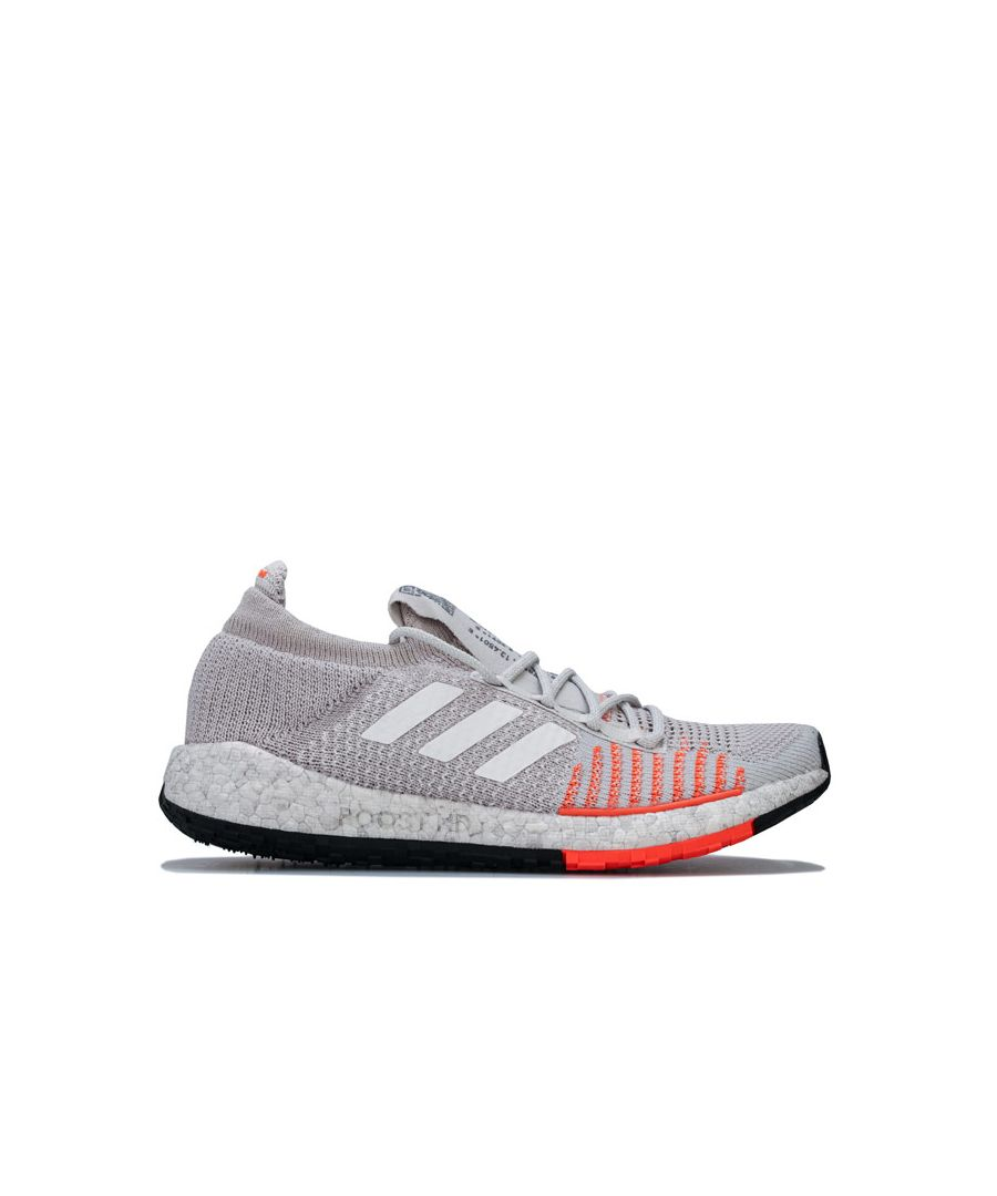 Image for Women's adidas PulseBOOST HD Running Shoes in Light Grey