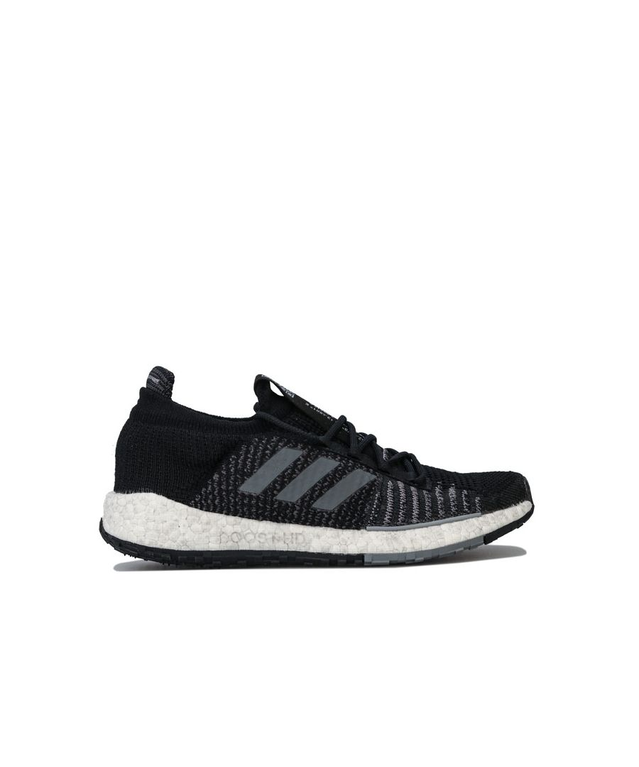 Image for Women's adidas Pulseboost HD Running Shoes in Black Grey