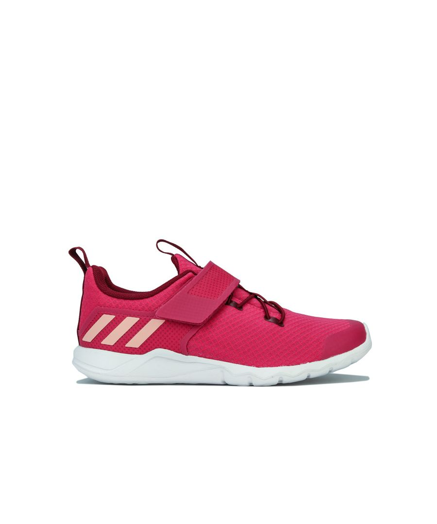 Image for Girl's adidas Junior RapidaFlex Trainers in Pink