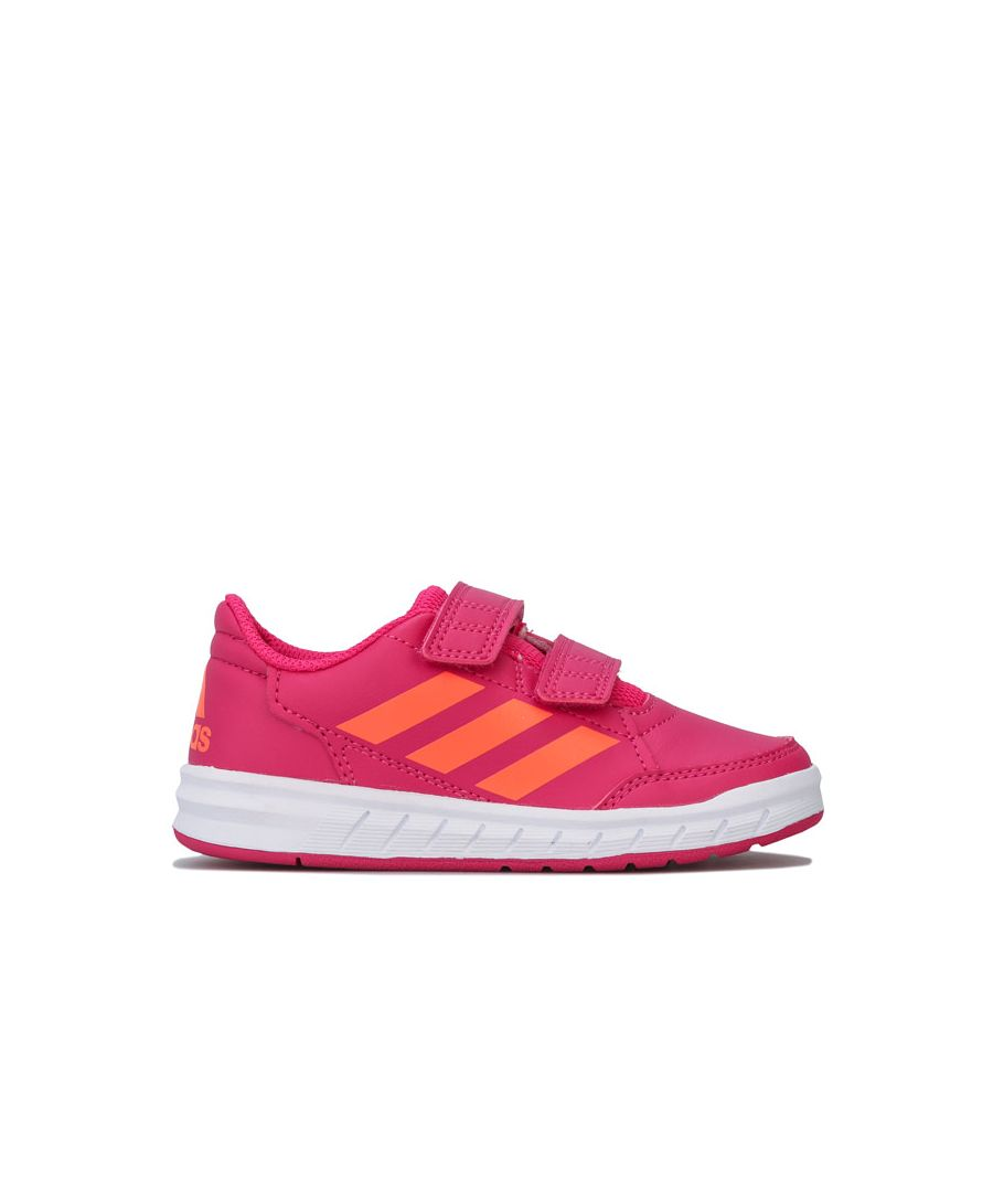 Image for Girl's adidas Junior AltaSport Trainers in Pink