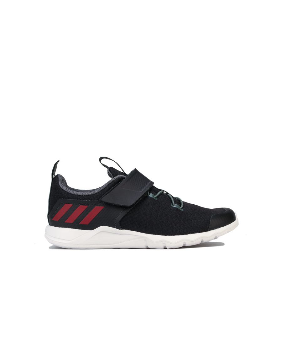 Image for Boy's adidas Junior RapidaFlex Trainers in Black