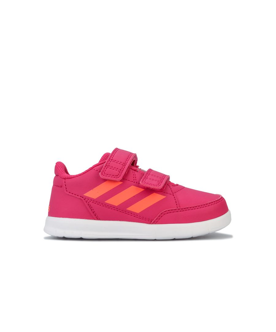 Image for Girl's adidas Infant Altasport Trainers in Pink