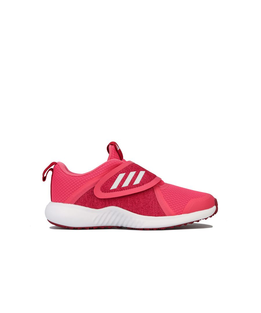 Image for Girl's adidas Junior FortaRun X Trainers in Pink