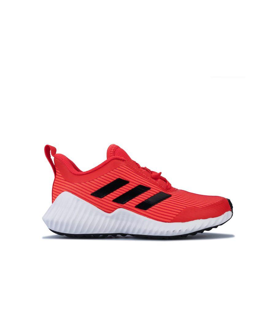 Image for Boy's adidas Junior FortaRun Trainers in Orange