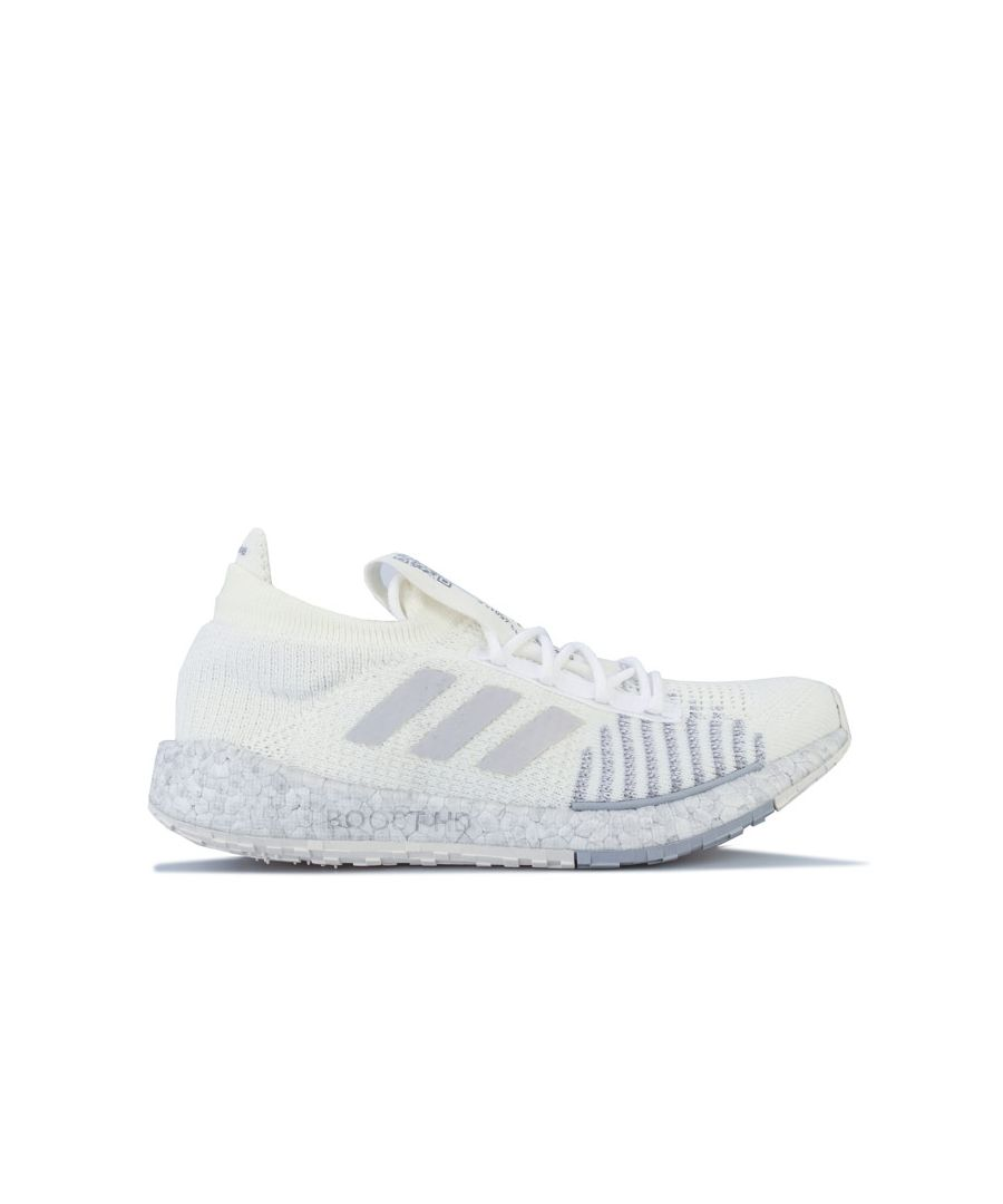 Image for Women's adidas Pulseboost HD Running Shoes in Off White