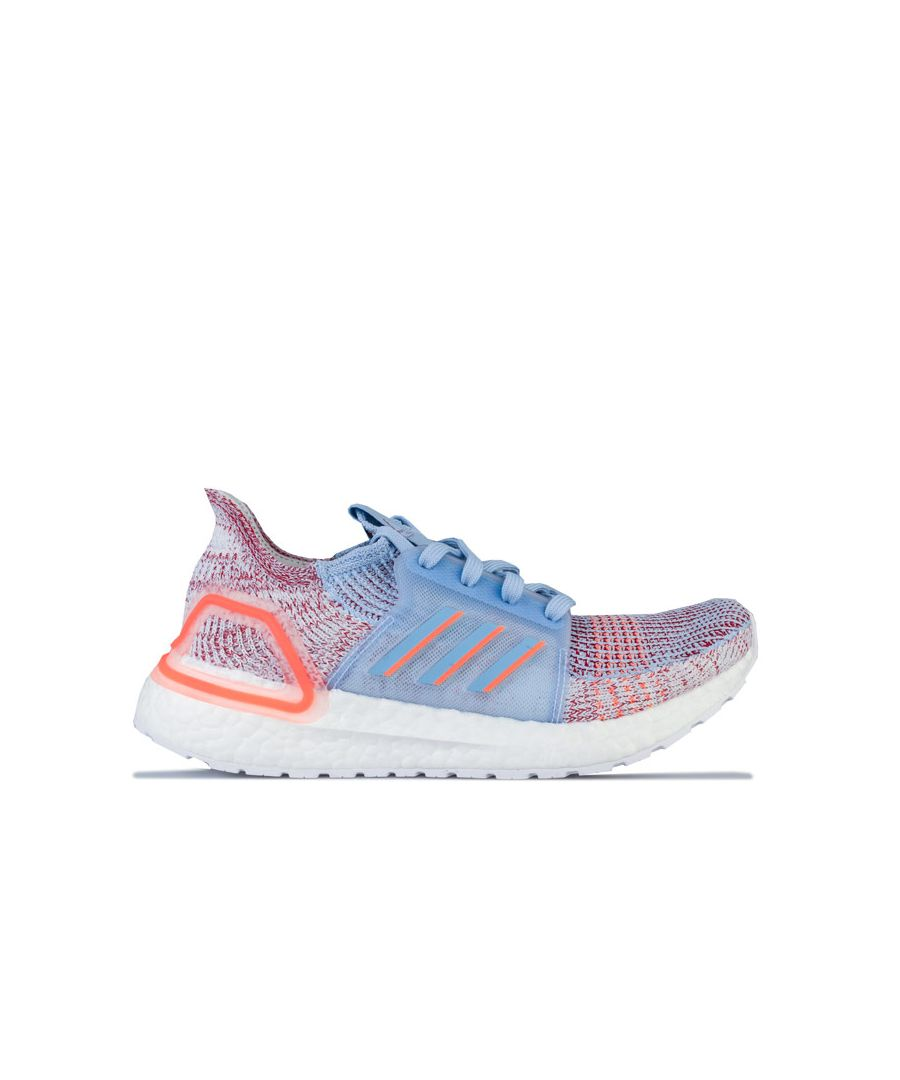 Image for Women's adidas Ultraboost 19 Running Shoes in Light Blue