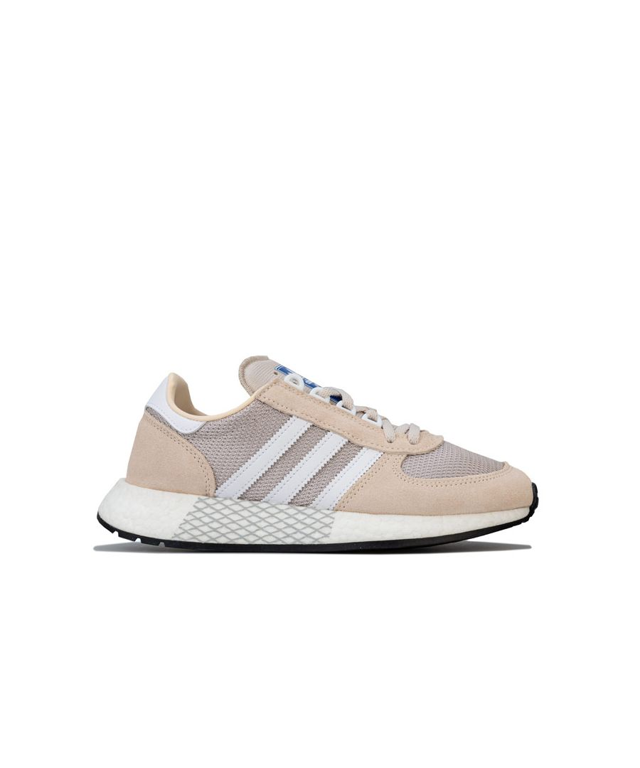 Image for Women's adidas Originals Marathon Tech Trainers in Ecru