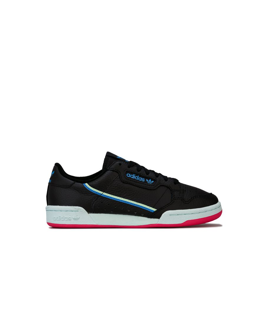 Image for Women's adidas Originals Continental 80 Trainers in Black