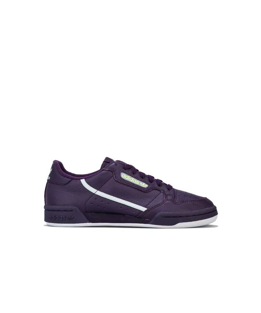 Image for Women's adidas Originals Continental 80 Trainers in Purple