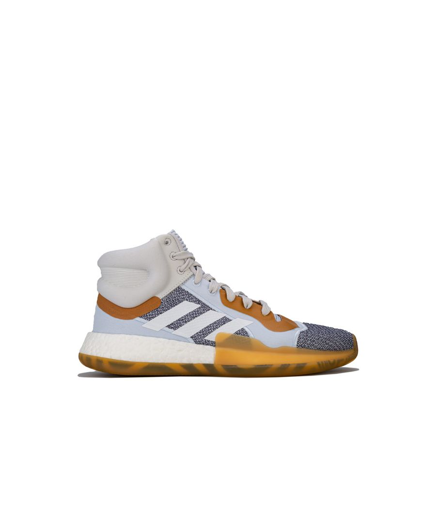 Image for Men's adidas Marquee Boost Trainers in White Grey