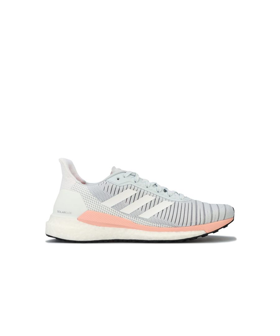 Image for Women's adidas Solar Glide 19 Running Shoes in Grey blue