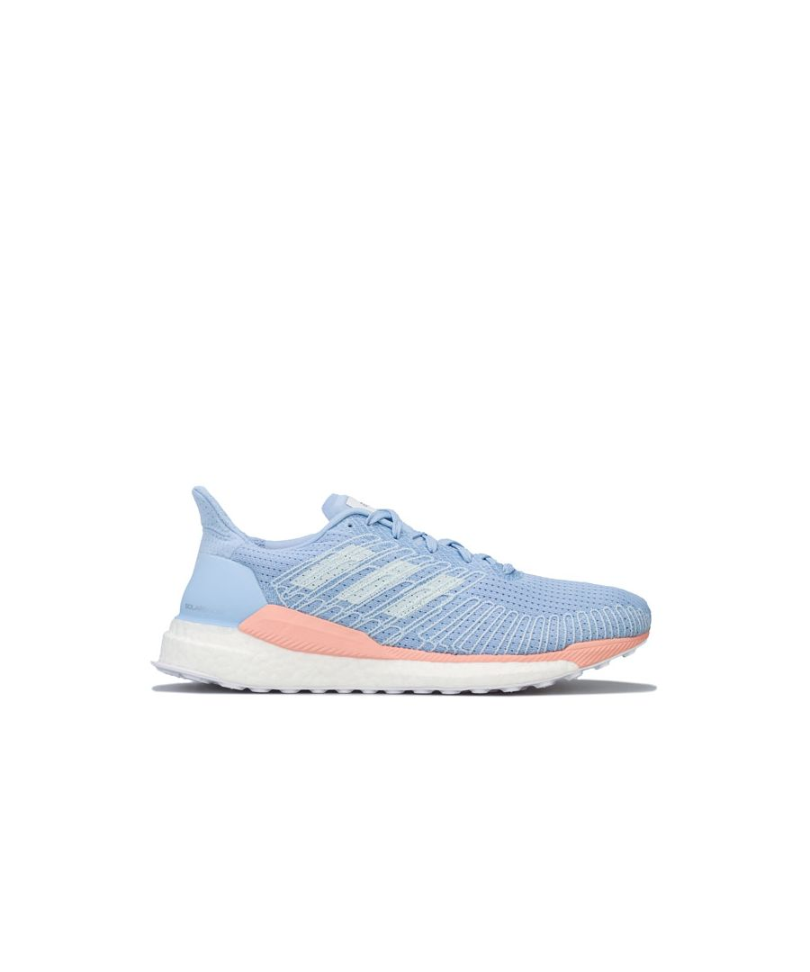 Image for Women's adidas Solar Boost 19 Running Shoes in Light Blue