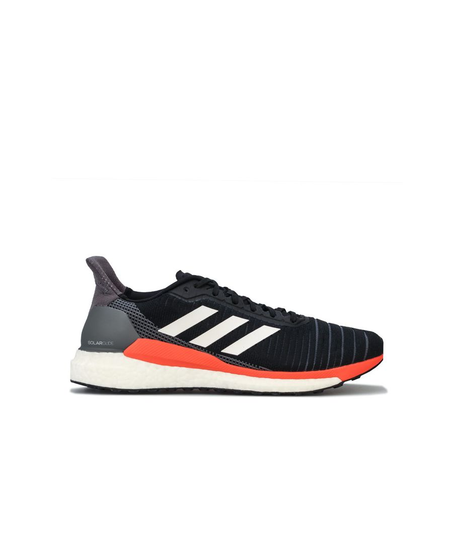 Image for Men's adidas Solar Glide 19 Trainers in black orange