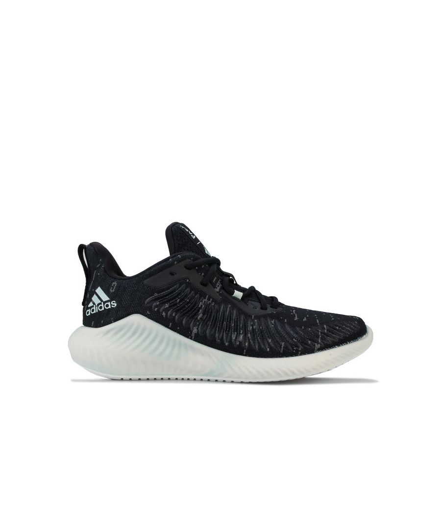 Image for Men's adidas Alphabounce Parley Trainers in Black