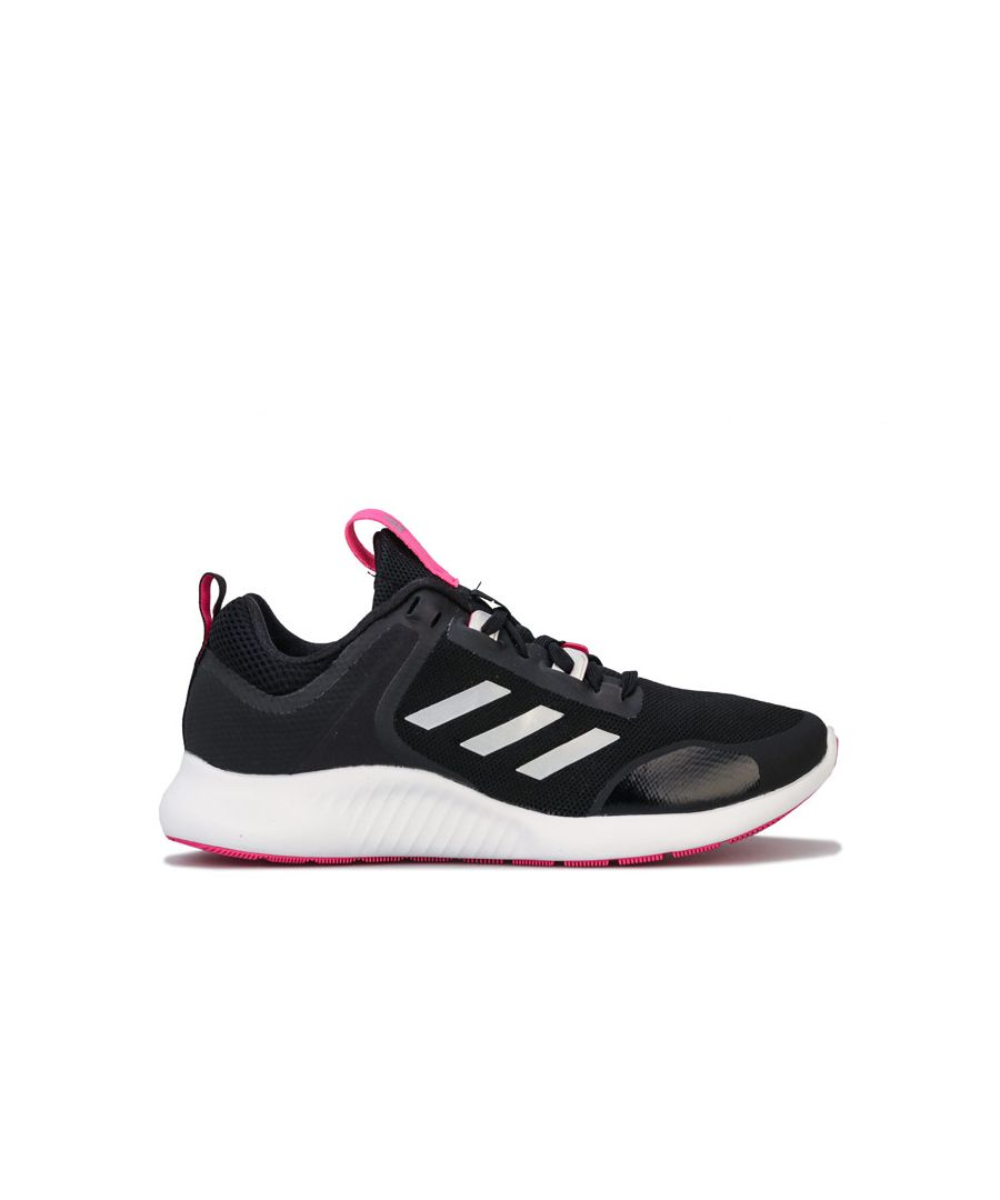Image for Women's adidas Edgebounce 1.5 Trainers in Black-White