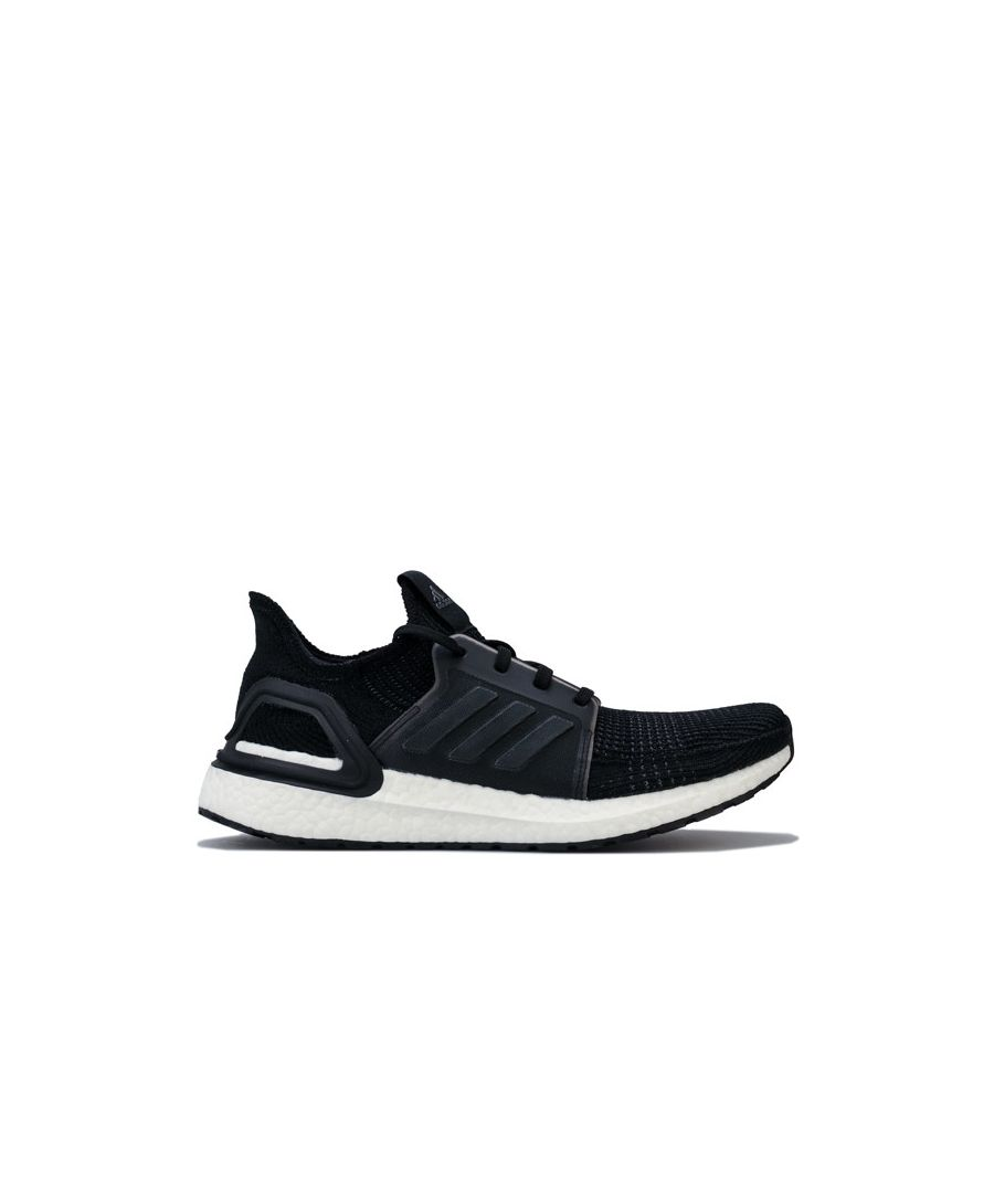Image for Men's adidas UltraBOOST 19 Running Shoes in Black