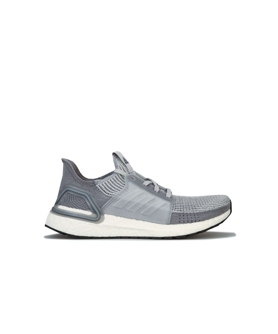 Image for Men's adidas Ultraboost 19 Running Shoes in Grey