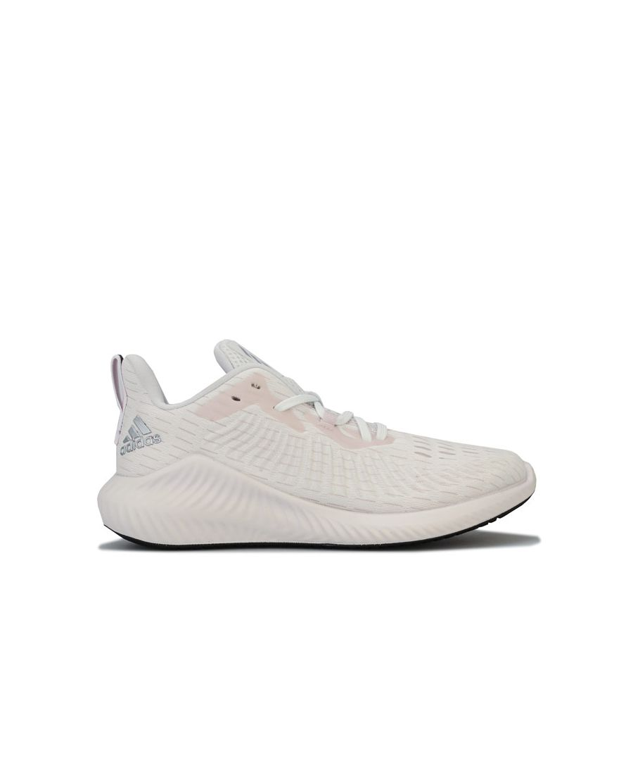 Image for Women's adidas alphabounce Plus Run Running Shoes in Off White