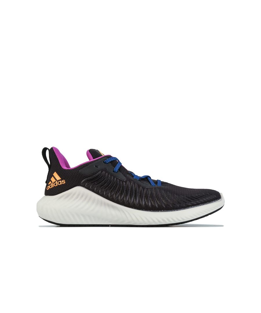 Image for Men's adidas Alphabounce Plus Run EM Running Shoes in Black