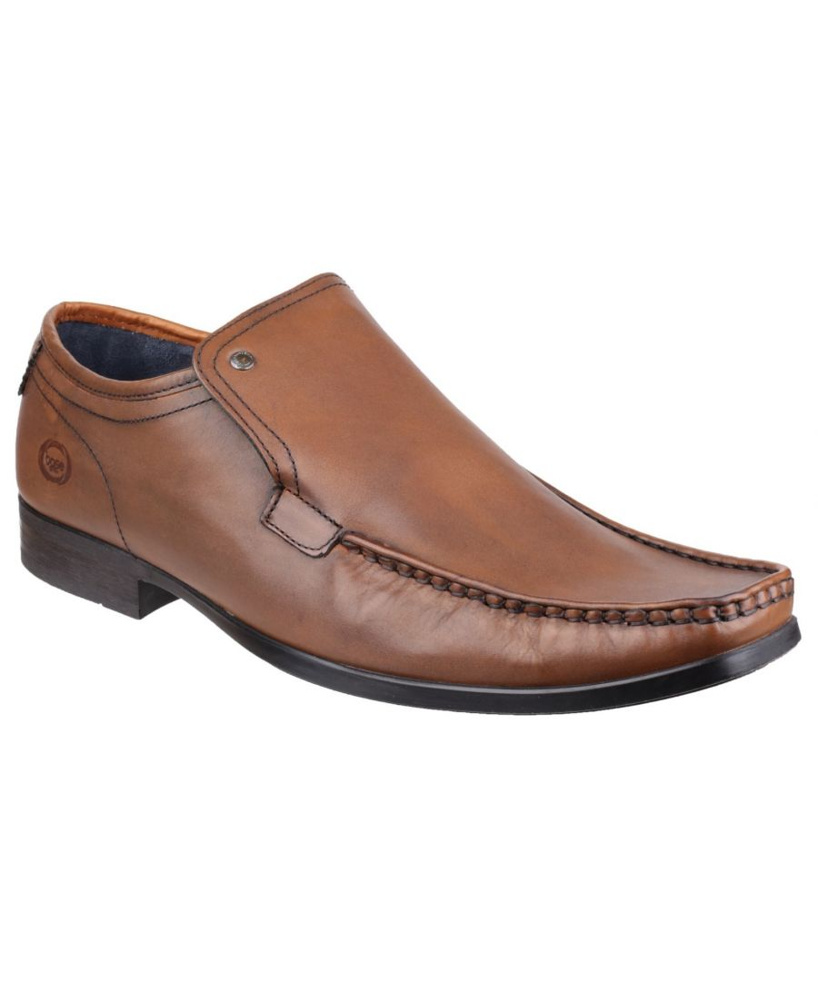 Image for Carnoustie Waxy Moccasin Shoe