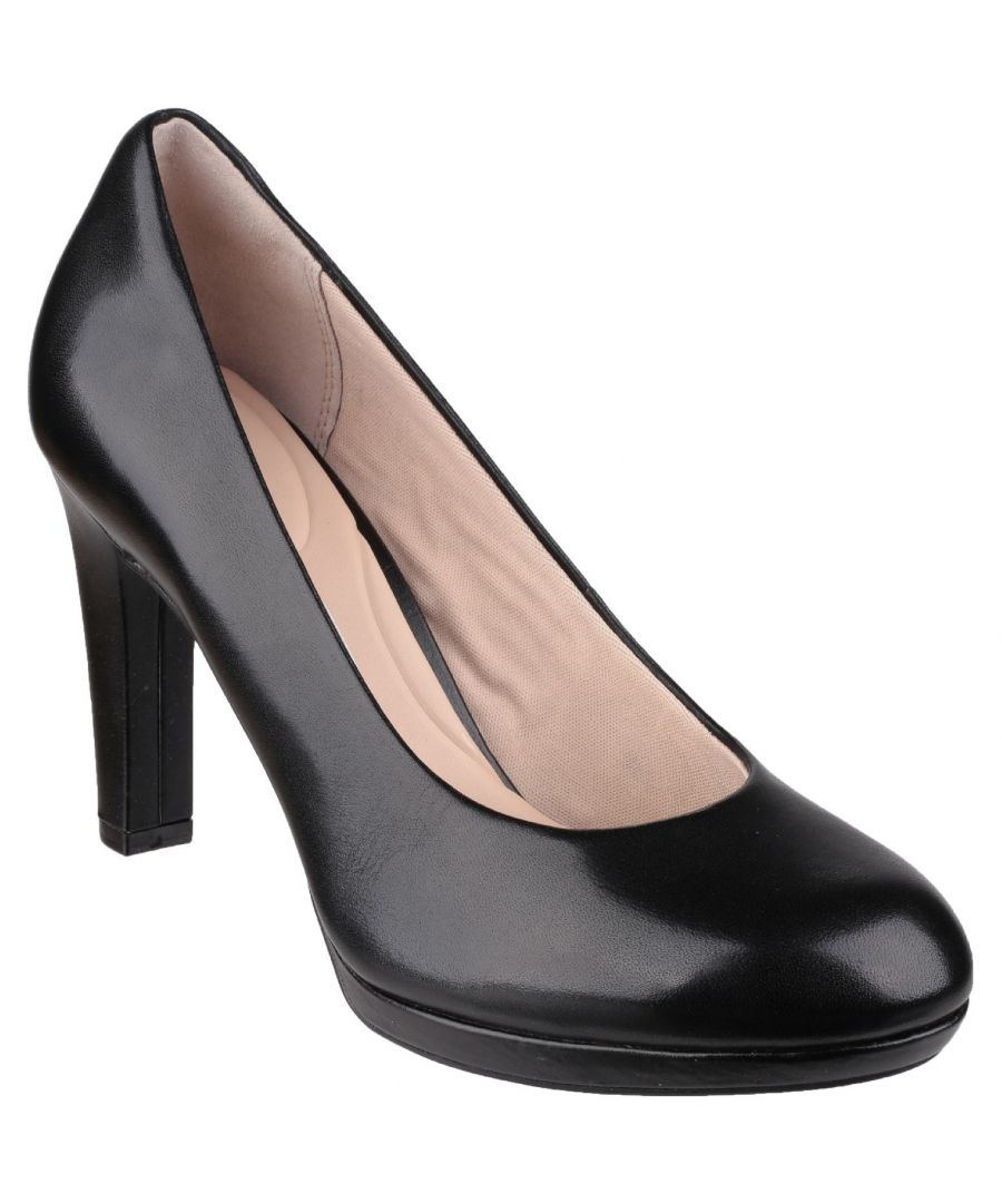 Image for Seven To 7 Black Court Shoe