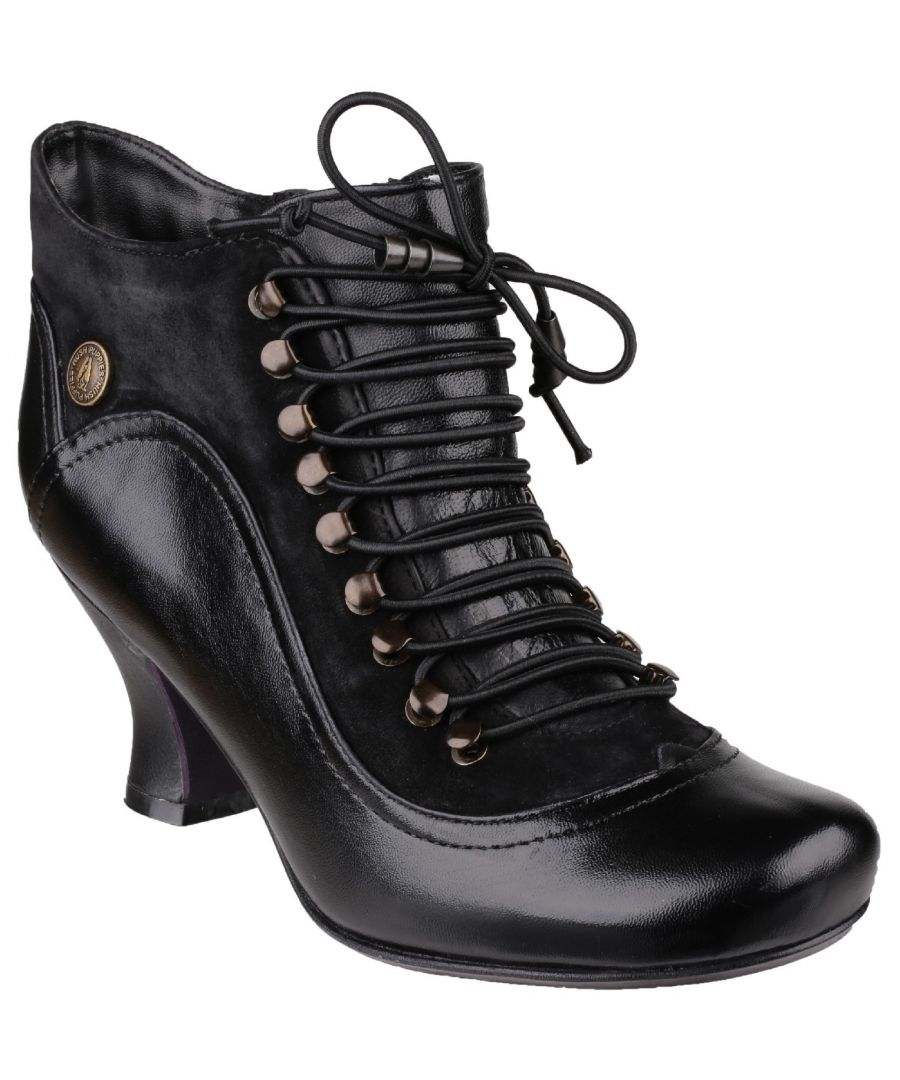 Image for Vivianna Lace Up Heeled Boot
