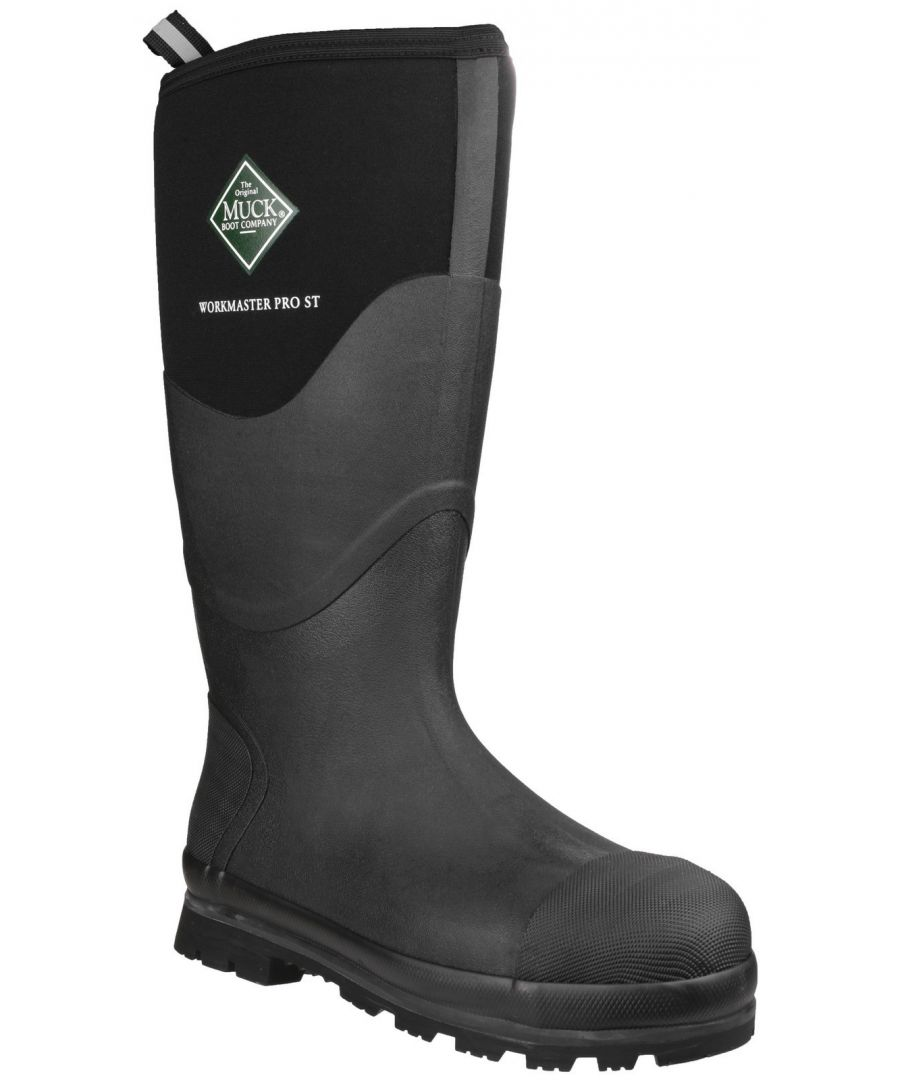 Image for Workmaster Pro High Waterproof Safety Wellington