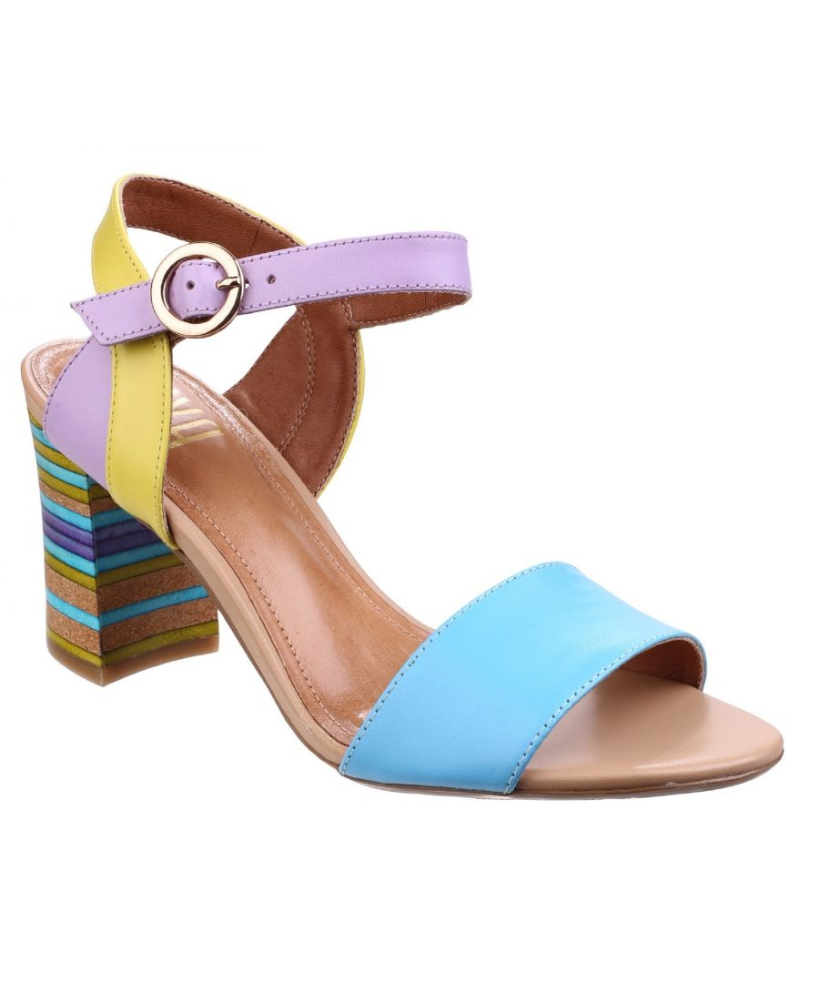 Image for Baxin Multi Leather Ladies Sandal