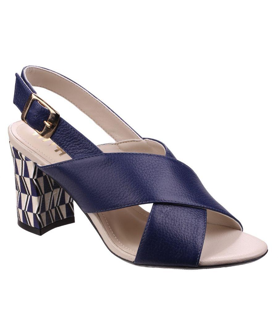 Image for Budino Leather Ladies Sandal
