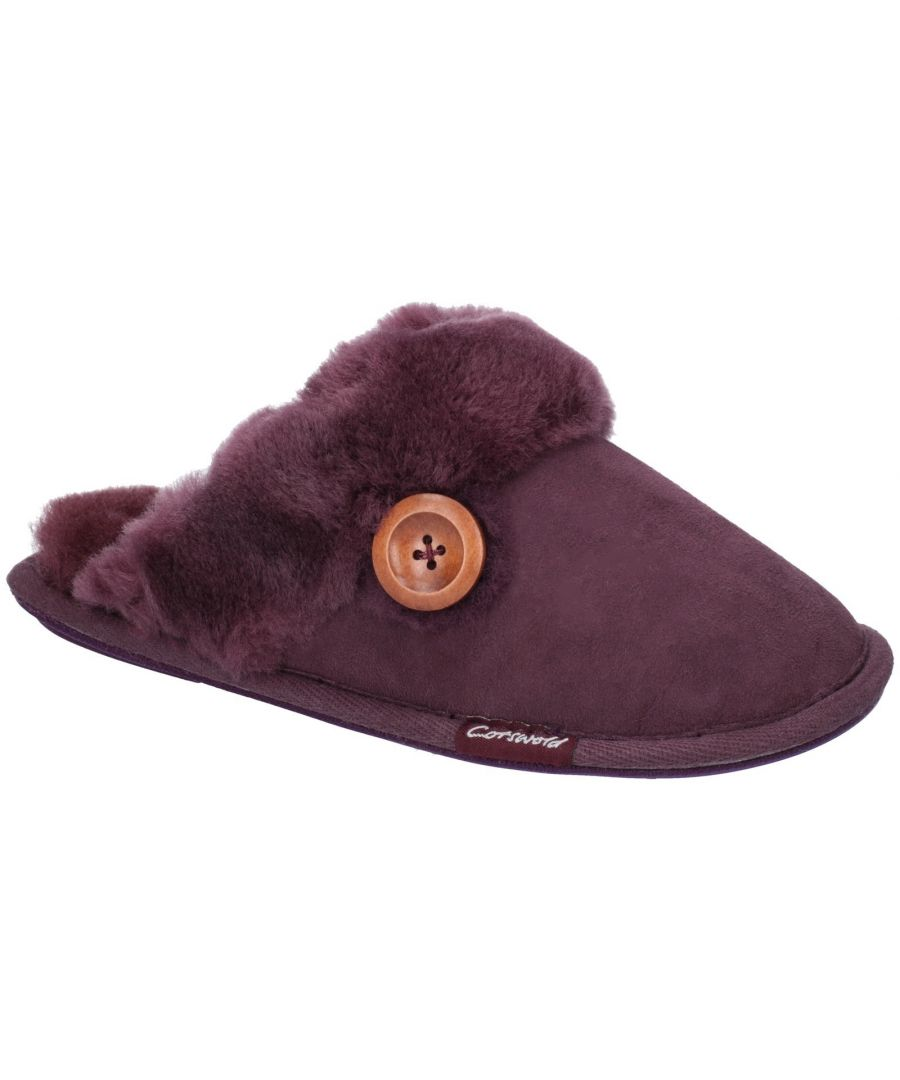 Image for Lechlade Sheepskin Mule Slipper