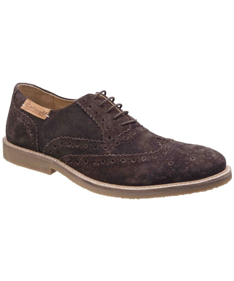 Image for Chatsworth Suede Wingtip Shoes