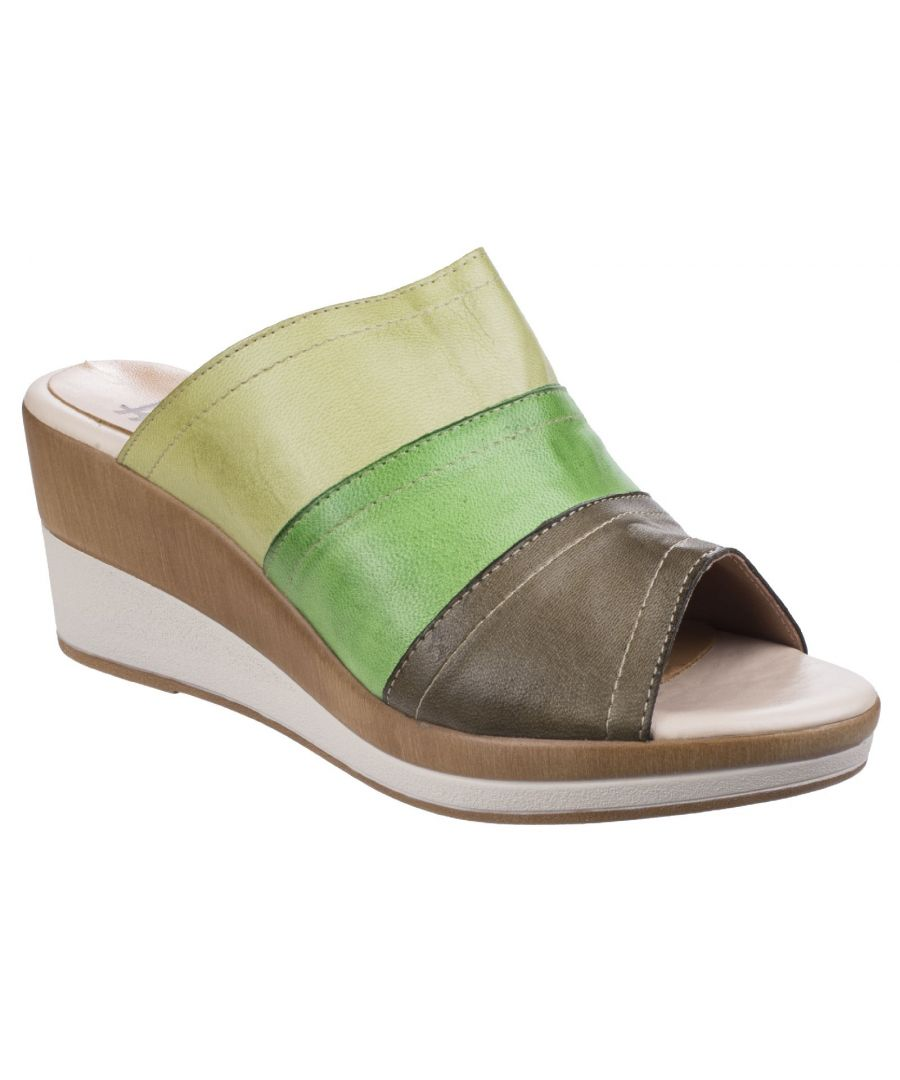 Image for Santo Wedge Mule Sandal