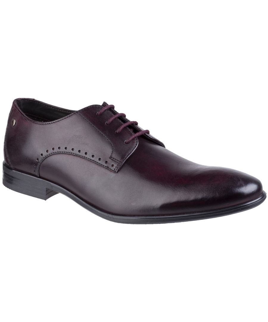 Image for Westbury Washed Plain Toe Derby Shoe