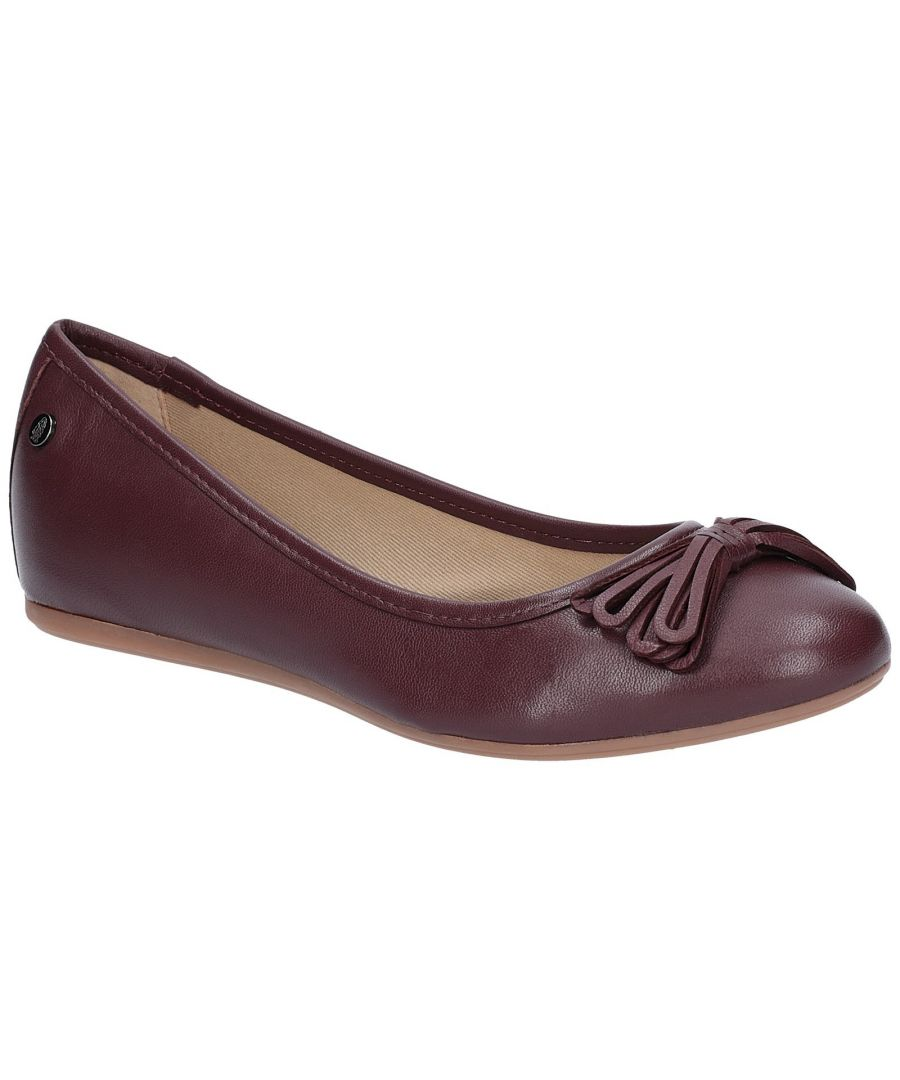 Image for Heather Bow Ballet Shoe