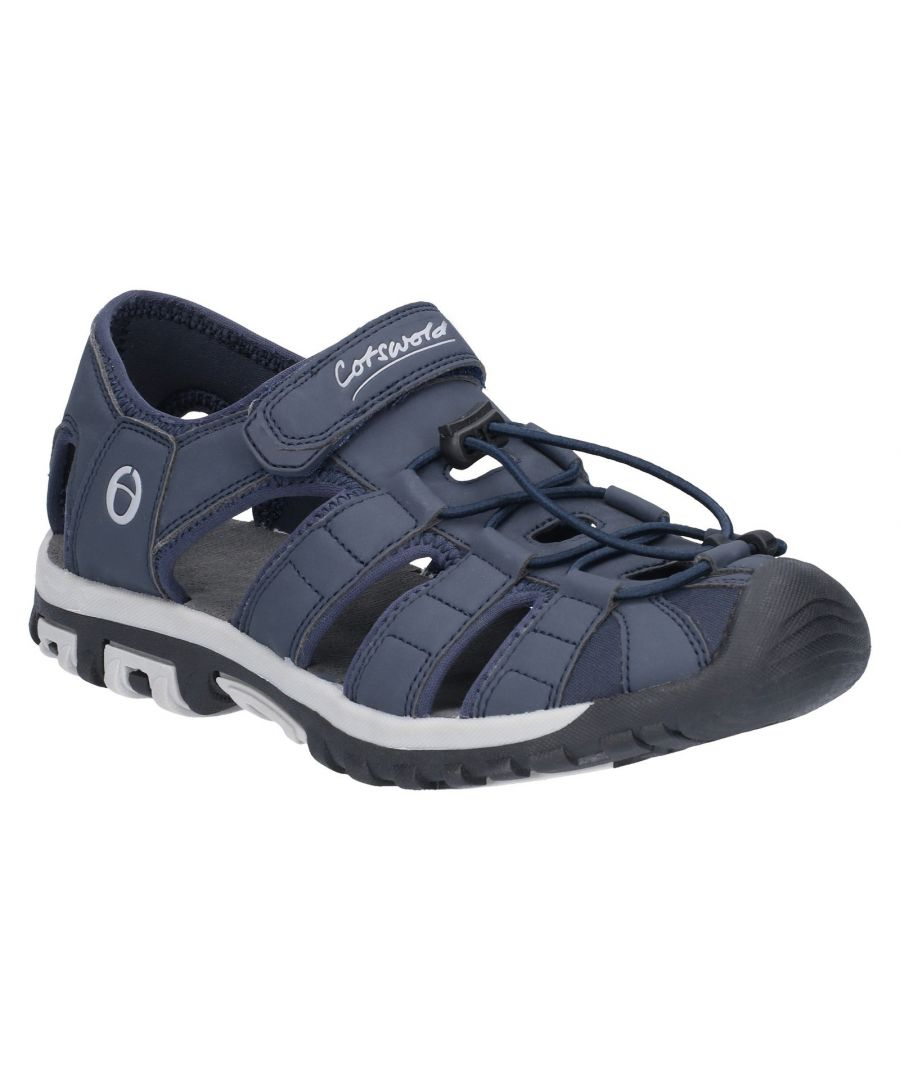 Image for Tormarton Closed Toe Fisherman Walking Sandal
