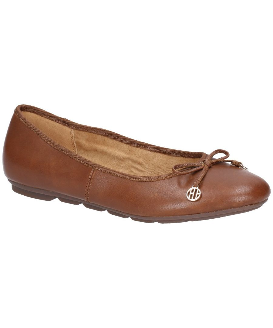 Image for Abby Bow Ballet Slip On Pump Shoe
