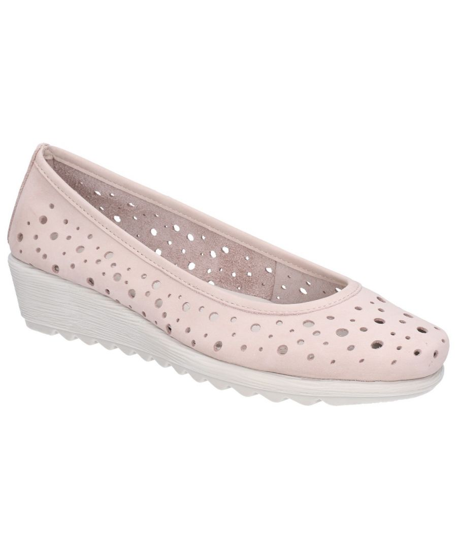 Image for Run Perfed Wedge Perforated Shoe