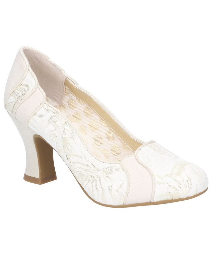 Image for Priscilla Louis Heeled Slip On Court Shoe
