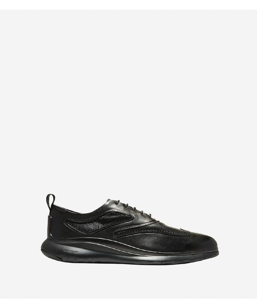 Image for 3.ZEROGRAND Wingtip Oxford Lace Up Shoe