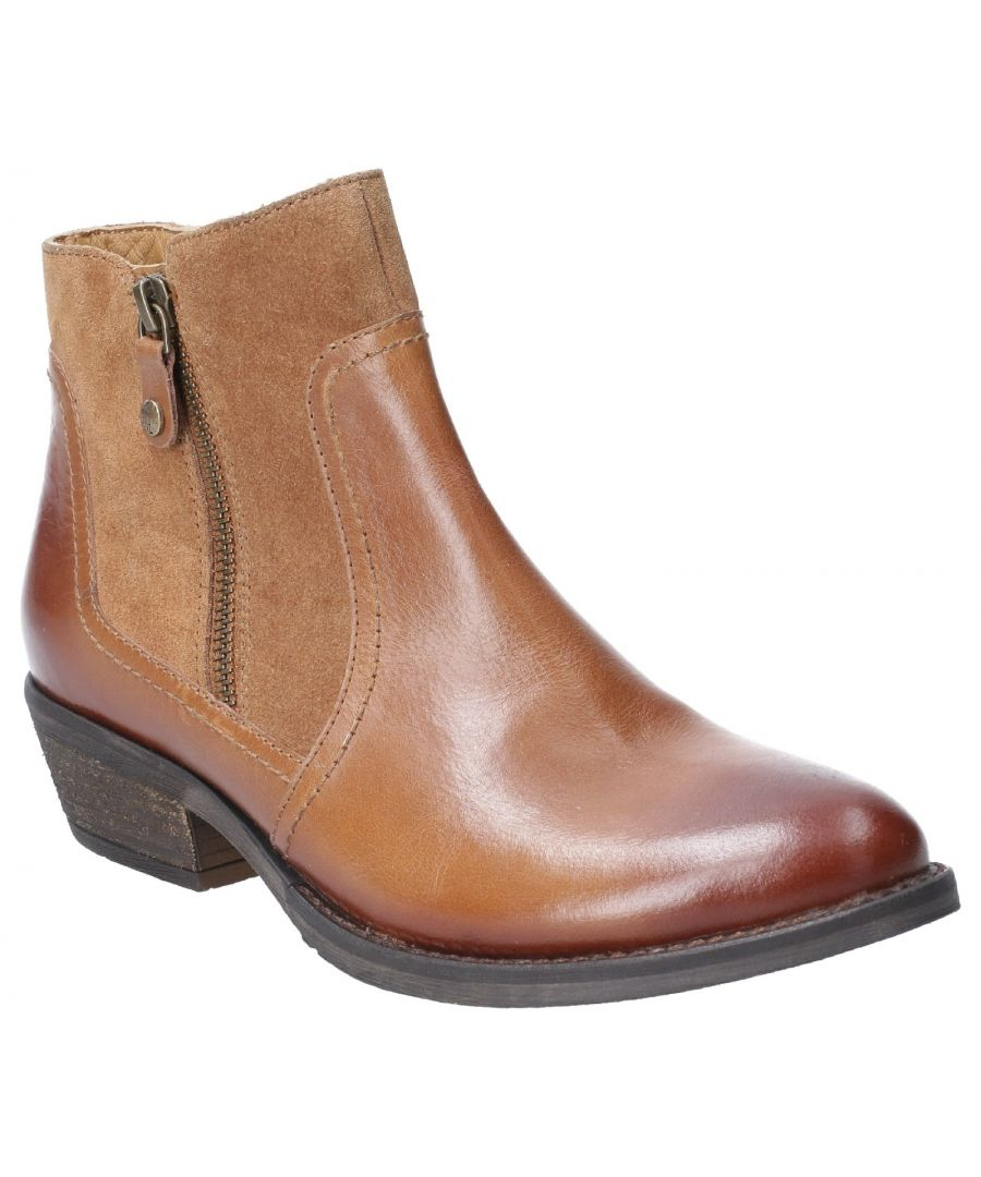 Image for Isla Zip Up Ankle Boot