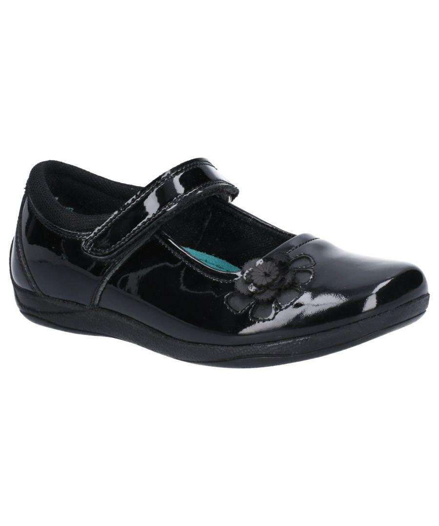 Image for Jessica Junior Patent School Shoe