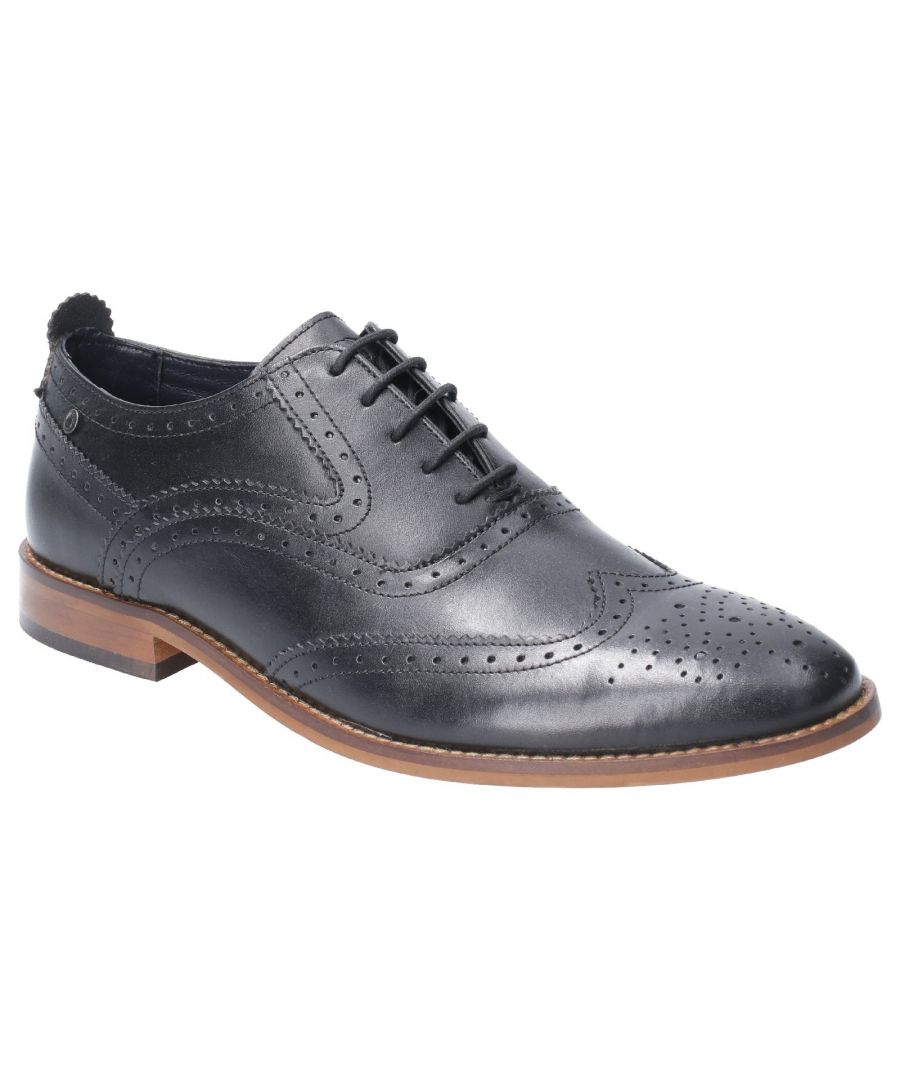 Image for Focus Waxy Lace Up Brogue Shoe