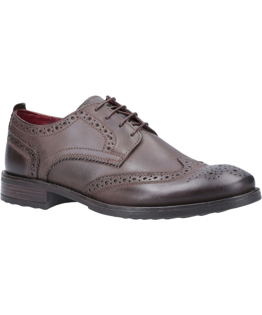 Image for Porter Burnished Lace Up Brogue Shoe