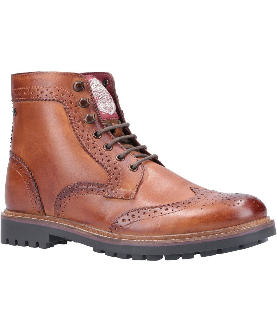 Image for Springbok Burnished Lace Up Boot