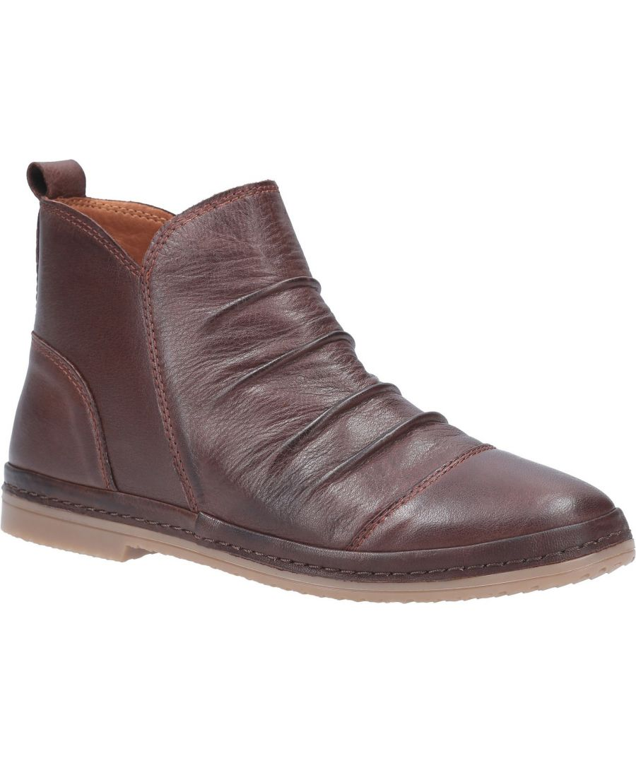 Image for Kefalonia Leather Zip Ankle Boot