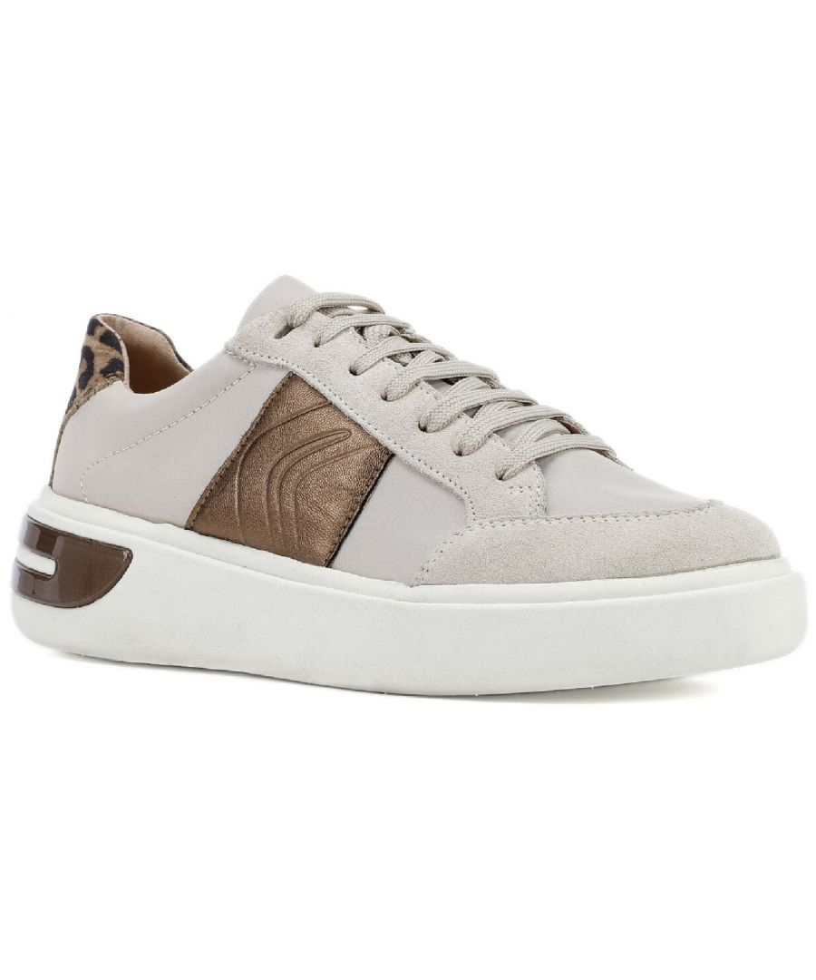 Image for D Ottaya F Lace Up Leather Trainers