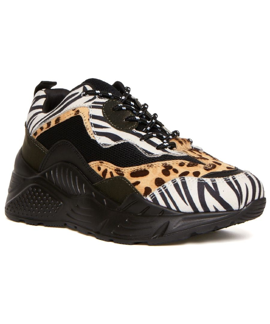 Image for Antonia Lace Up Trainer