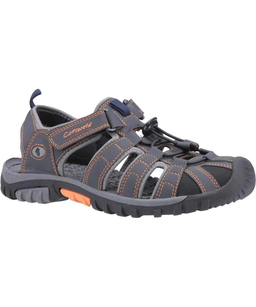 Image for Sandhurst Touch Fastening Sandal