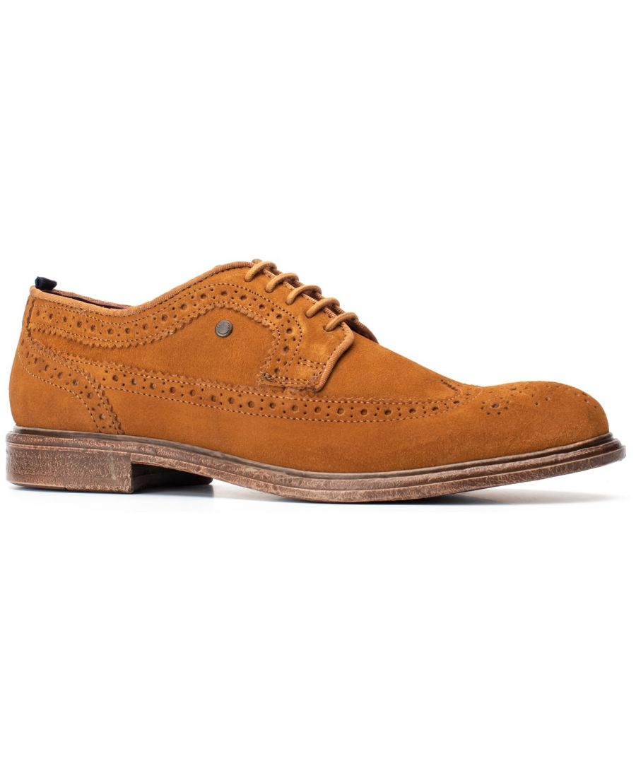 Image for Onyx Suede Lace Up Brogue