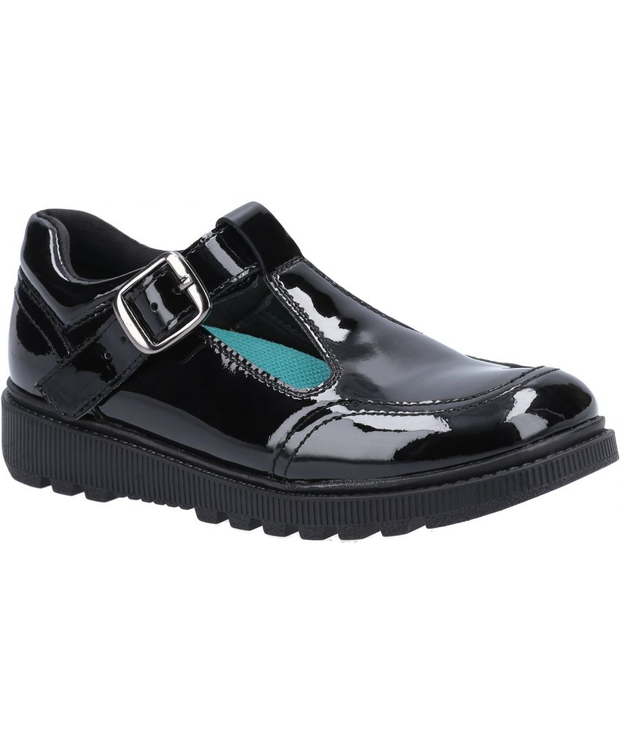 Image for Kerry Patent Senior School Shoe